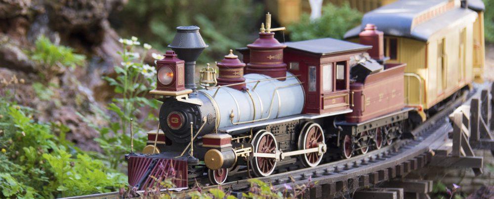 The Railroad Fern Creek and Western Garden Railroad